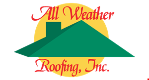 Product image for All Weather Roofing 15% Off any job large or small