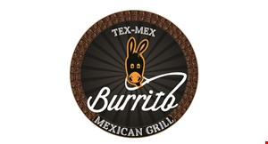 Product image for Tex-Mex Burrito Mexican Grill 10% OFF any catering order.