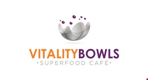 Product image for Vitality Bowls-King Of Prussia $2.00 OFF any purchase of $10 or more.