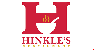 Product image for Hinkles Restaurant $5.00 Off any purchase of $25 or more • dine in only.