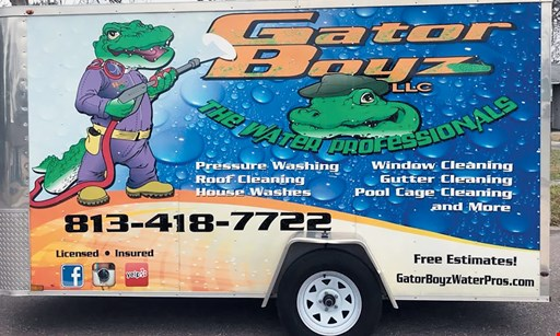 Product image for Gator Boyz Up to $100 off roof clean