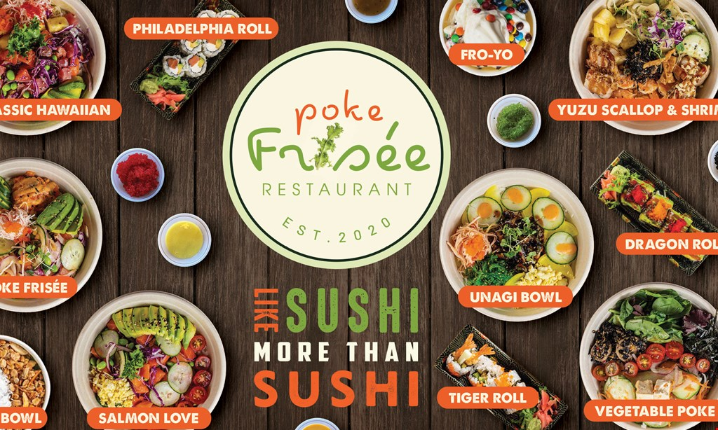 Product image for Poke Frisee 15% Off entire order.