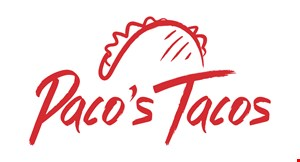 Paco's Tacos logo