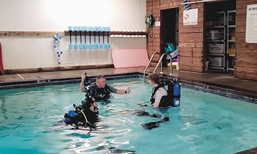 Product image for Underwater Adventures Dive Center $50 Off scuba diving lesson for two