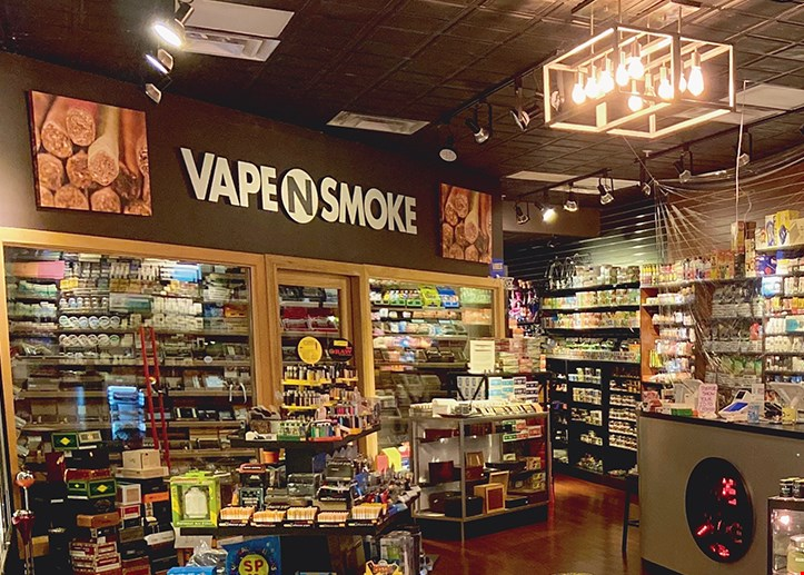 Product image for Vape N Smoke 10% Off all items excluding cigarettes.
