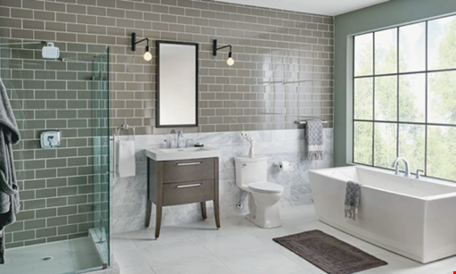 Product image for Renew Home Innovations free shower door w/ American Standard Shower System