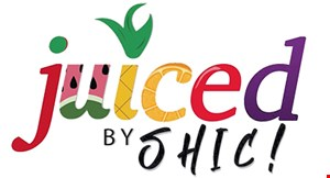 Product image for Juiced By Shic $1Off any smoothie.