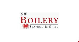 Product image for The Boilery Seafood & Grill $10 OFF any purchase of $60 or more.