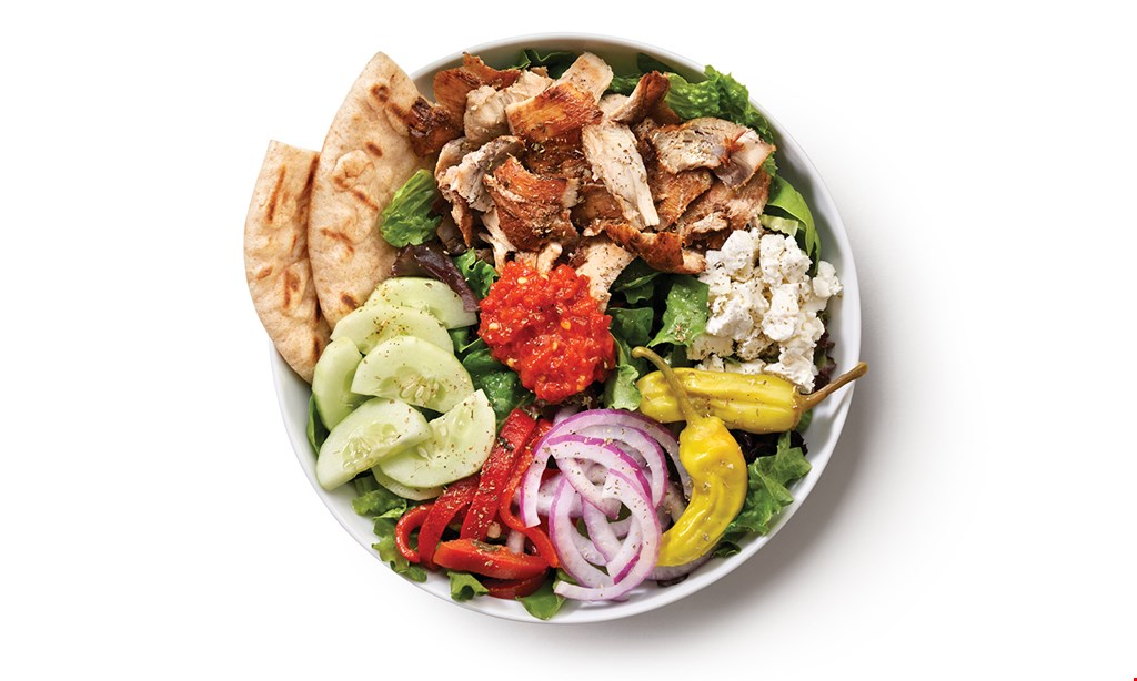 Product image for The Simple Greek FREEGreek frieswith the purchase of any bowl or pita.
