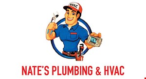 Product image for Nate'S Plumbing & Hvac 15% OFF labor on any job.