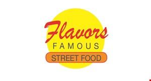Flavors Famous Street Food logo