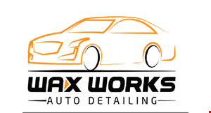 Product image for Wax Works Auto Detailing 20% OFF any purchase