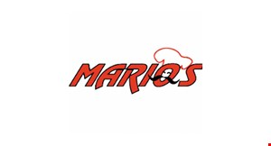 Product image for Mario's Pizza $10 OFF any purchase of $50 or more.