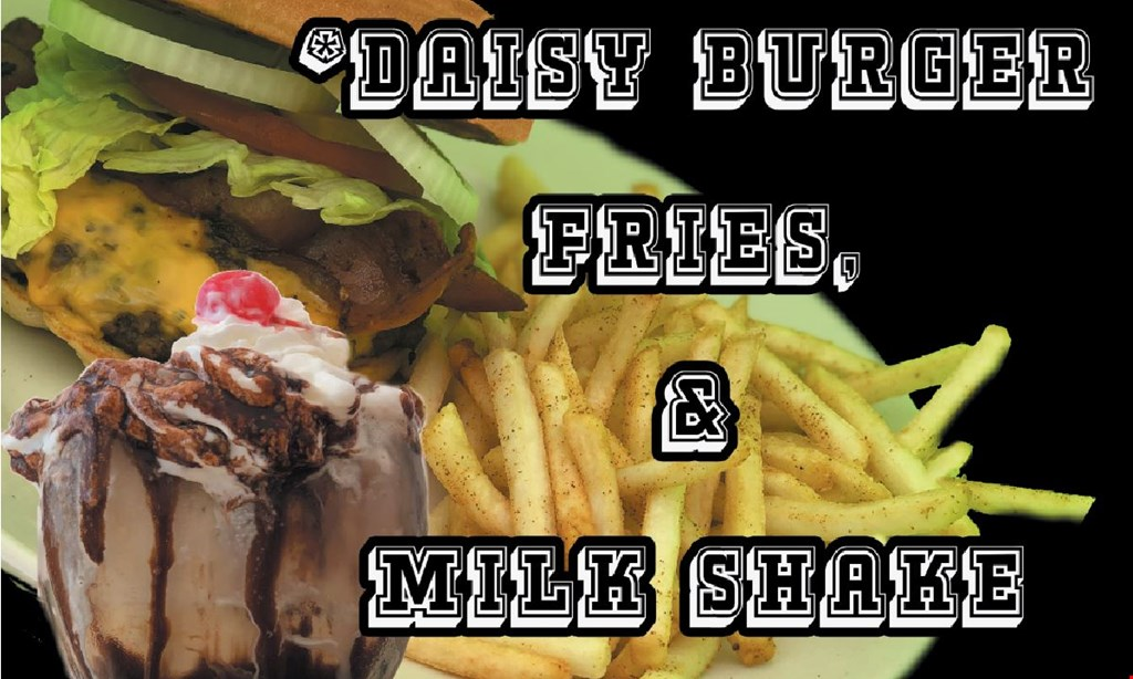Product image for Daisy Dukes Diner $3 OFF valid after 12pm. dine in only.