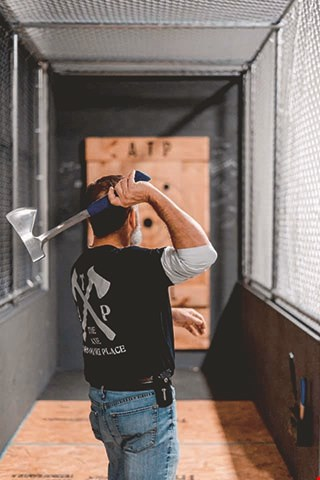 Product image for The Axe Throwing Place $5 Off any purchase of $20 or more.