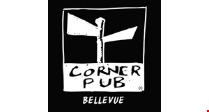 Product image for Corner Pub Bellevue $5 off any purchase of $30 or more