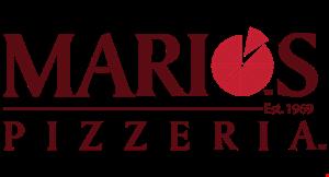 Marios Pizzeria logo