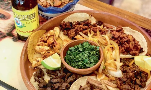Product image for El Sombrero Mexican Grill FREE lunch special buy 1 lunch special and any 2 drinks, get 2nd lunch special of equal or lesser value free.