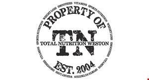 Total Nutrition Weston logo