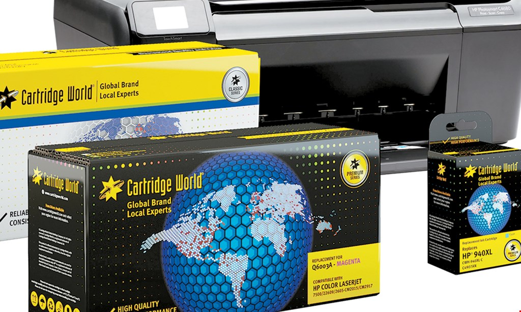 Product image for Cartridge World Miami 10% OFF NEW CLIENT.