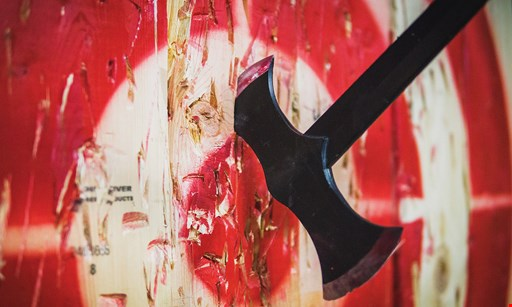 Product image for Team Escape 262 save $25 on 4 admissions to Axe throwing