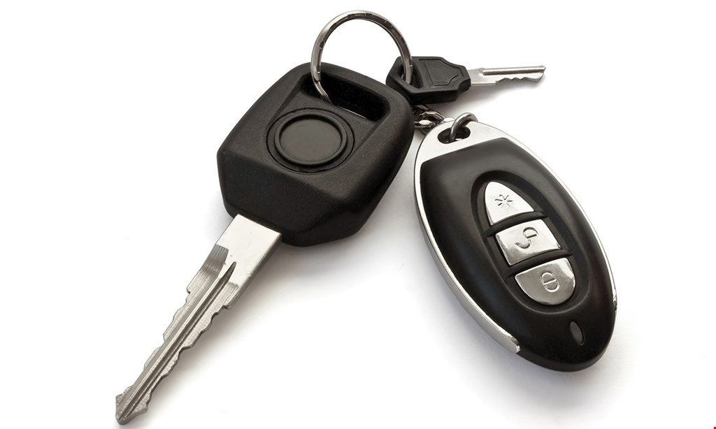 Product image for Key Kutterz FREE RV or motorcycle key buy 1 RV or motorcycle key, get 1 RV or motorcycle key of equal or lesser value free.