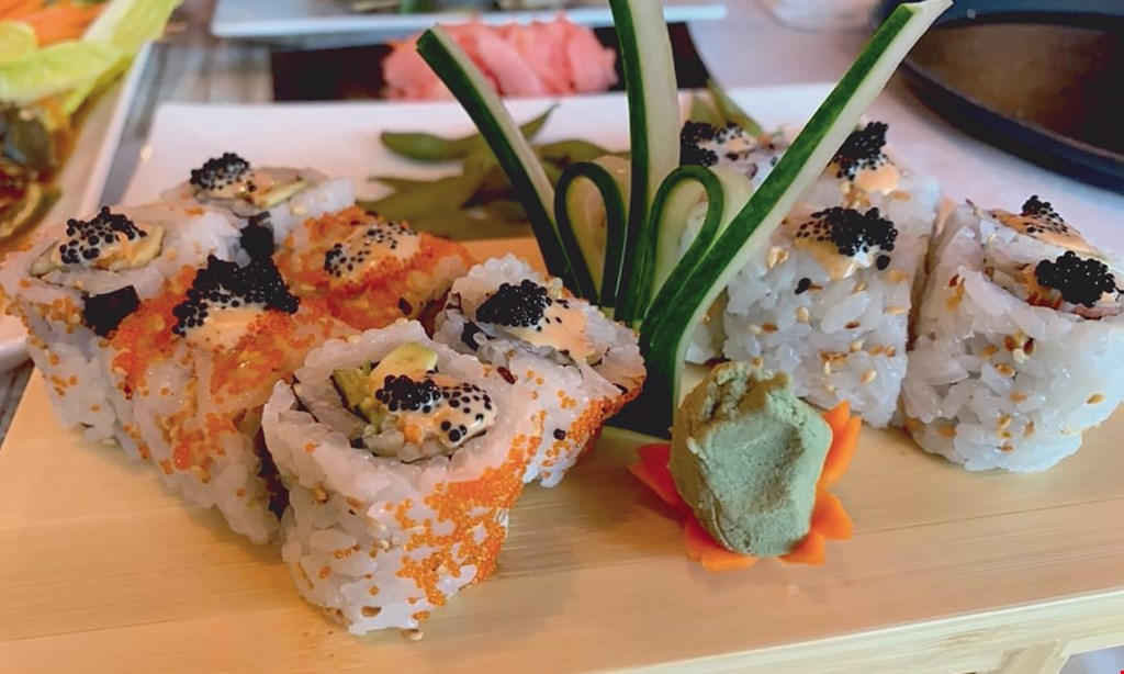 Product image for E-Saan Thai Sushi $10 OFF any purchase of $50 or more.