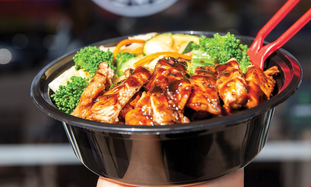 Product image for Teriyaki Madness - Harrisburg FREE BUY ONE REG SIZE BOWL, GET A SECOND BOWL FREE WITH PURCHASE OF TWO DRINKS