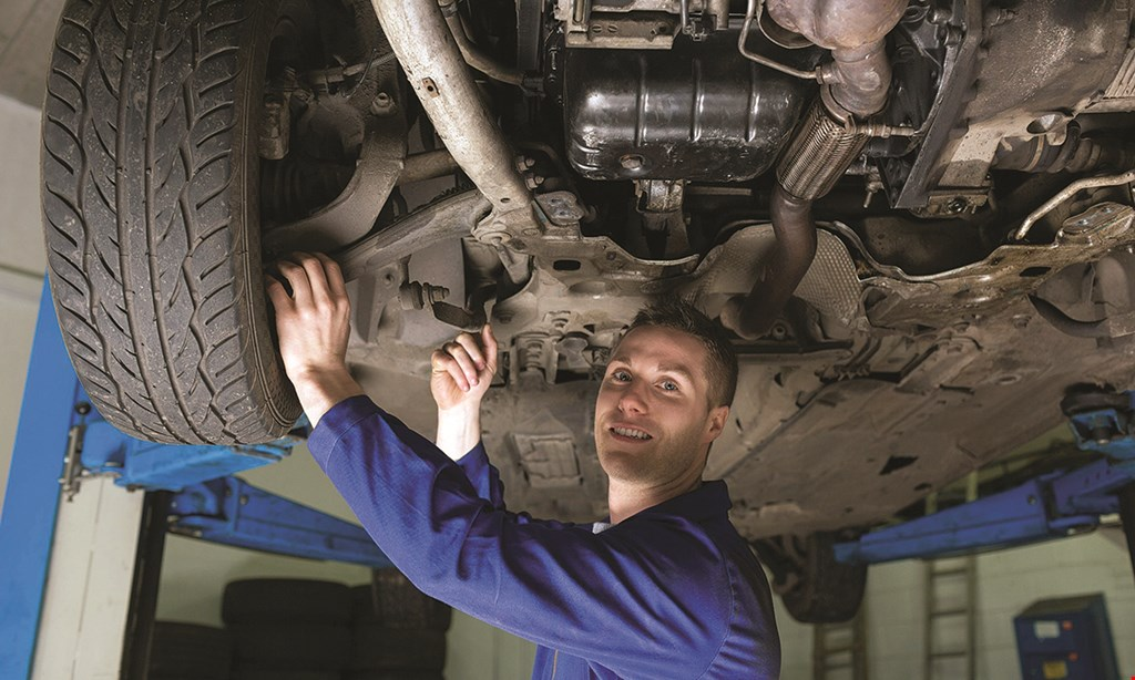 Product image for Hillmuth Certified Automotive $36.97 for 3000 maximized oil package, includes 27-point inspection