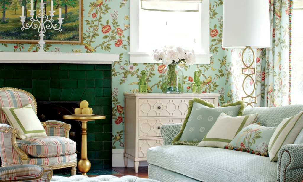 Product image for ROCKVILLE INTERIORS & FABRICS 20% off All Fabrics FOR...Drapery, Roman Shades, Cornices & Valances, Reupholstery, Pillows & Cushions