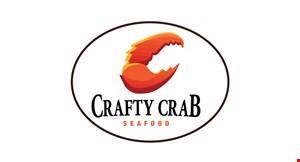 Product image for Crafty Crab $10 OFF any purchase of $60 or more.