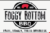 Product image for Foggy Bottom BBQ $5.00 OFF $25 OR MORE. DINE IN ONLY. FOOD ONLY.