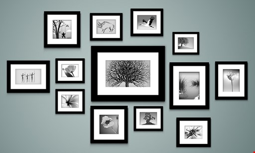 Product image for Create A Frame $10 off custom picture framing.