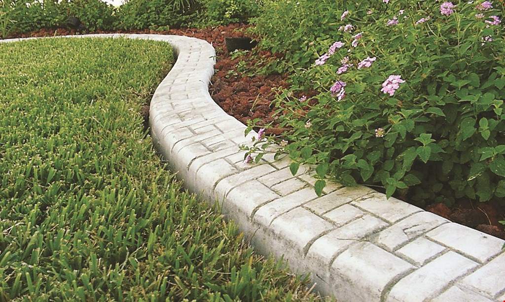 Product image for Creative Curbz free 50 feet of borders or walkways with 200 foot purchase or 10% off total price which ever is greater.