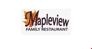 Mapleview Family Restaurant logo