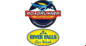 Roadrunner Express Car Wash & Oil Change logo