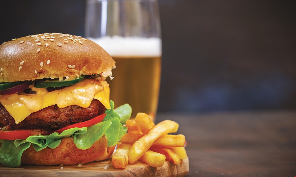 Product image for D M Burgers ONLY $6.25 MONDAY & TUESDAY SPECIAL PRIME BURGER.