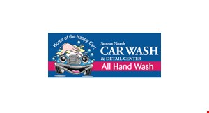 Product image for SUNSET NORTH CAR WASH & DETAIL CENTER $10 Off dash, doors & console or any service $84.99 & up.