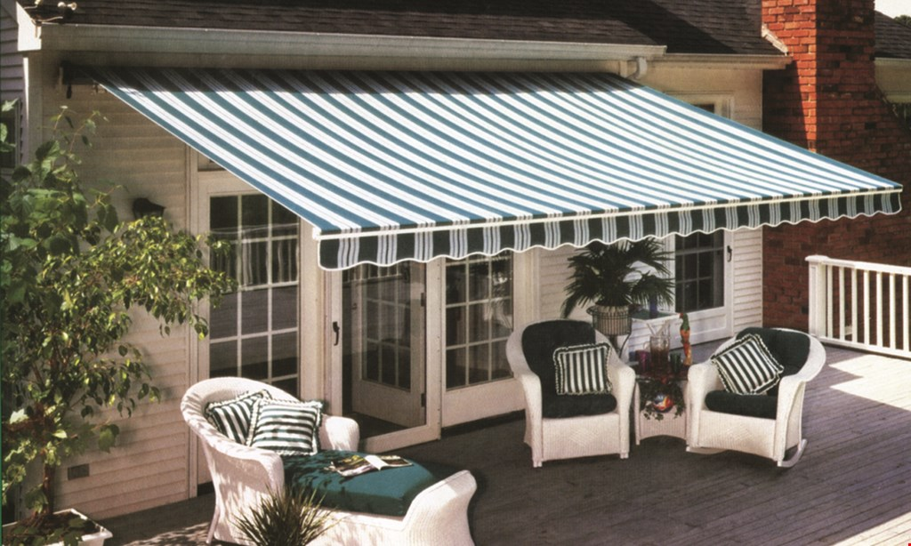 Product image for C.B. Dombach Awnings $200 off any canopy re-cover
