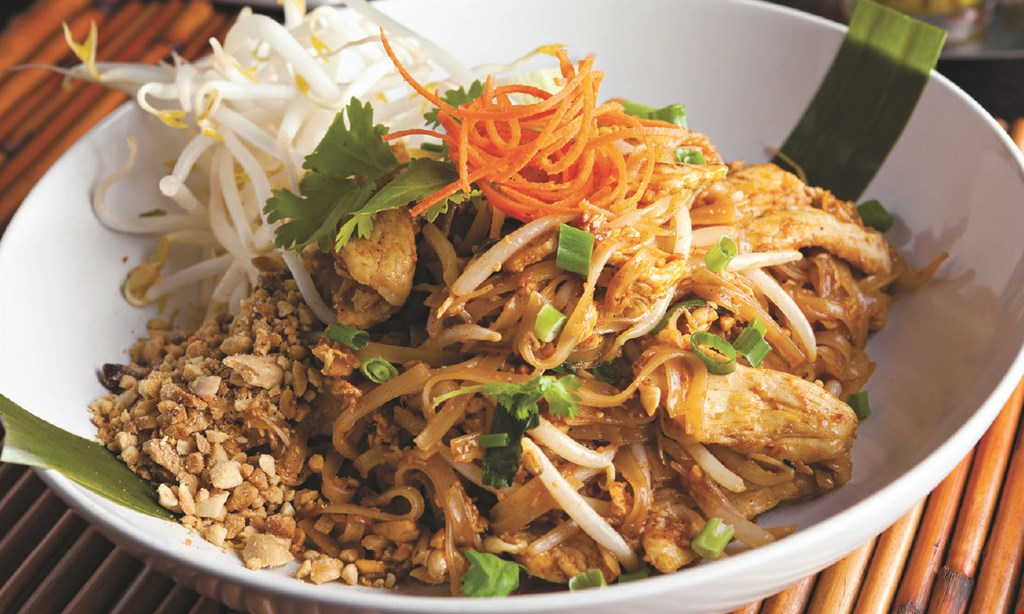 Product image for Bangkok Thai & Sushi 15% OFF any food purchase of $20 or more.