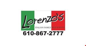 Lorenzo's Italian Family Restaurant logo