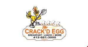 The Crack'd Egg logo