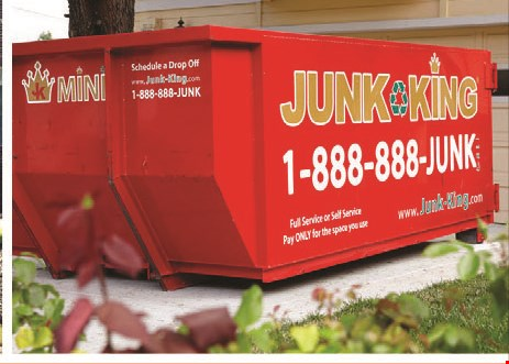 Product image for Junk King $25 off any job.