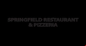 Springfield Restaurant & Pizzeria logo