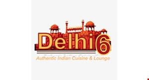 Dehli 6 Indian Cuisine logo