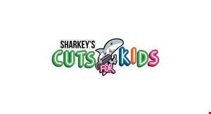 Sharkey's Cuts For Kids- Jacksonville logo