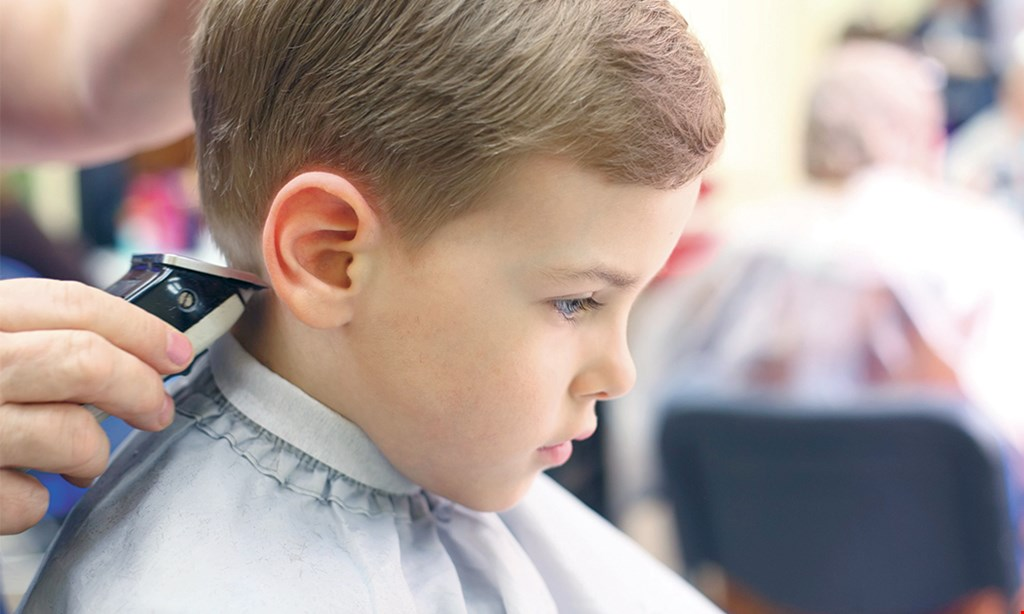 Product image for Sharkey's Cuts For Kids- Jacksonville $4 Off any haircut Tuesday-Thursday