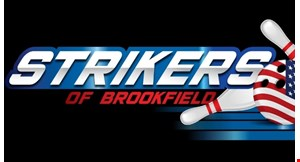 Product image for Strikers Of Brookfield $30 For $60 For 2 Games Of Bowling Including Shoes For 4 People