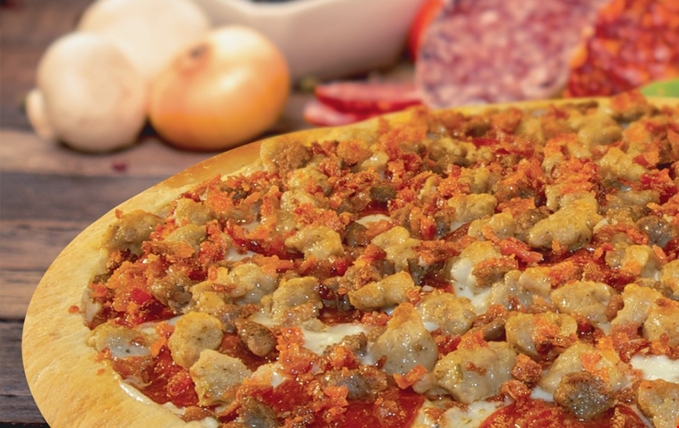 Product image for Noble Roman's Pizza $9.99Large Specialty Pizza or Works Pizza