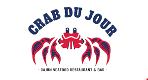 Product image for Crab Du Jour $5 OFF any purchase of $35 or more.